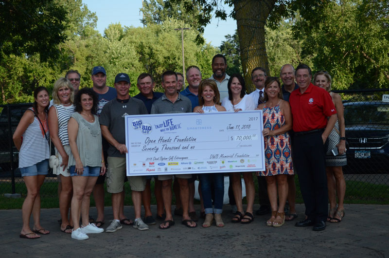 DWB Memorial Foundation raises $70K for Open Hands Foundation