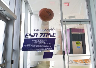Kyle Rudolph's End Zone
